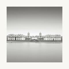 Base (glenndriver4) Tags: black white bw long exposure mono monochrome london uk river thames england building city college naval