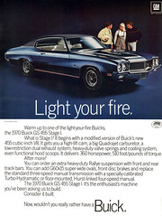 1970 Buick GS 455 Stage 1 (Tom Simpson) Tags: 1970buickgs455stage1 1970 1970s car cars vintage ad ads advertising advertisement vintagead vintageads buick 1970buick buickgs buickgs455