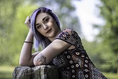 Jada - Parco dei tre laghi (Gravellona Lomellina) (Pasquale D'Anna) Tags: jada ragazza girl donna modella model bellezza primopiano tatuaggio shooting parco