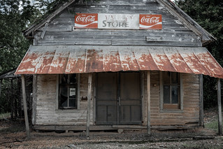 Mississippi John Hurt and the Valley Store.