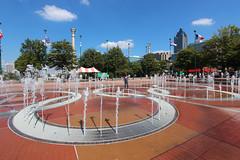 Centennial Olympic Park (russ david) Tags: centennial olympic park atlanta georgia october 2016 ga