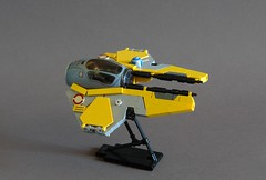 Eta-2 Actis : The Whiny Brat's (Sydag) Tags: lego moc space scifi starfighter starwars spacefighter ship eta2actis episodeiii clonewars