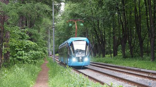Moscow tram 31039 Vityaz-M