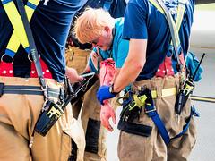 I want to Hold Your Hand (Bely Medved) Tags: dcra emergencymanagement exercise ©jrj madison wisconsin unitedstates us em1markii olympus