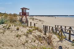 Watchtower (nigelboulton72) Tags: beach lifeguard tower dunes spain spanish andalucia puntadelmoral islacanela
