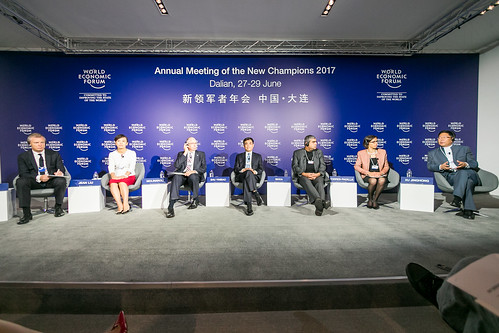 Press Conference: Meet the Co-Chairs of the Annual Meeting of the New Champions 2017