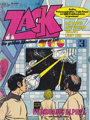 ZACK / 1977 Nr. 25 (micky the pixel) Tags: comics comic heft koralleverlag zack josécardona mondbasisalpha1 space1999 tvadaption sf scifi sciencefiction