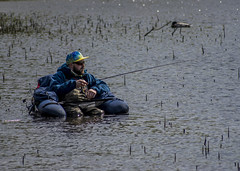 The armchair fisherman (jbc58) Tags: loch lomond scotland milarrochy bay balmaha fisherman fishing