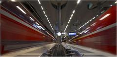 Whoosh! Speed King (Giovanni Giannandrea) Tags: berlin hauptbahnhof germany railway station deutschebahn speed transportation fast motion trainspotting t2