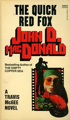Gold Medal Books - John D. MacDonald - The Quick Red Fox (swallace99) Tags: goldmedal fawcett vintage 70s murder mystery thriller paperback robertmcginnis type:face=itcpioneer