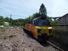 70817 Moorswater (27) (Marky7890) Tags: colasrail 70817 class70 6c35 moorswater liskeard cornwall railway train