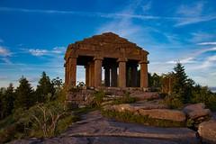 Temple du Donon (jamesreed68) Tags: antiques ruines donon temple nuit 67 alsace basrhin nature paysage architecture historique romain grandest france patrimoine vosges