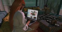 .procrastination. (Ai Venus Kouyama) Tags: sl secondlife sims 4 sims4 elf avatar virtual worlds ginger computer game