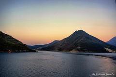 Ionian Islands at Dusk (lhg_11, 2million views. Thank you!) Tags: travel travelphotography cruise vikingsea europe greece corfu landscape landscapephotography sea ioniansea mountains islands dusk