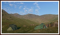 Great Carrs wild-camp....6-30am (stu.bloggs..Dont do Sundays) Tags: landscape lakedistrict lakeland greatcarrs halifaxwreckage wildcamp tents landscapes mountains fells cumbria summer june 2017 views rocks rockyoutcrops clouds