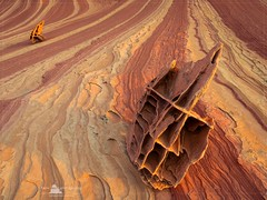 Boneyard, North Coyote Buttes (www.fourcorners.photography) Tags: boneyard wave northcoyotebuttes vermilioncliffswilderness arizona rockhouseroad page kanab sunrise southwestphotoadventures fourcornersphotography peterboehringerphotography