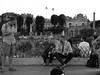Distrutti (Colombaie) Tags: roma romapride 2017 grande parata parade città urbe metropoli meraviglie glbt movimenti gruppi persone gay omosessuali omosessuale lesbica lesbiche marcia centro prideweek gente festa street fine stanchezza bn bw monocromo sedute andare rimanere amici ritratto uomo uomini maschio fausto fororomano scavi archeologia colonne onorarie basilicaiulia basilicaemilia colonnadifoca santamariadellaconsolazione ospizio viadeiforaggi palme campitelli bellitalia ameliepoulain