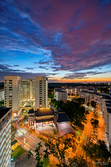 Awesome Twilight (Leslie Hui) Tags: hdb singapore sony sunset publichousing cityscape city