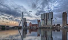 Rotterdam Erasmusbrug (Kevin Boelhouwer) Tags: skyline erasmusbrug rotterdam