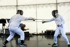 Fencing 4 (JimmyBrandt) Tags: fencing speed agility dexterity fast swords sabre step d7100 nikon sverige sweden strängnäs