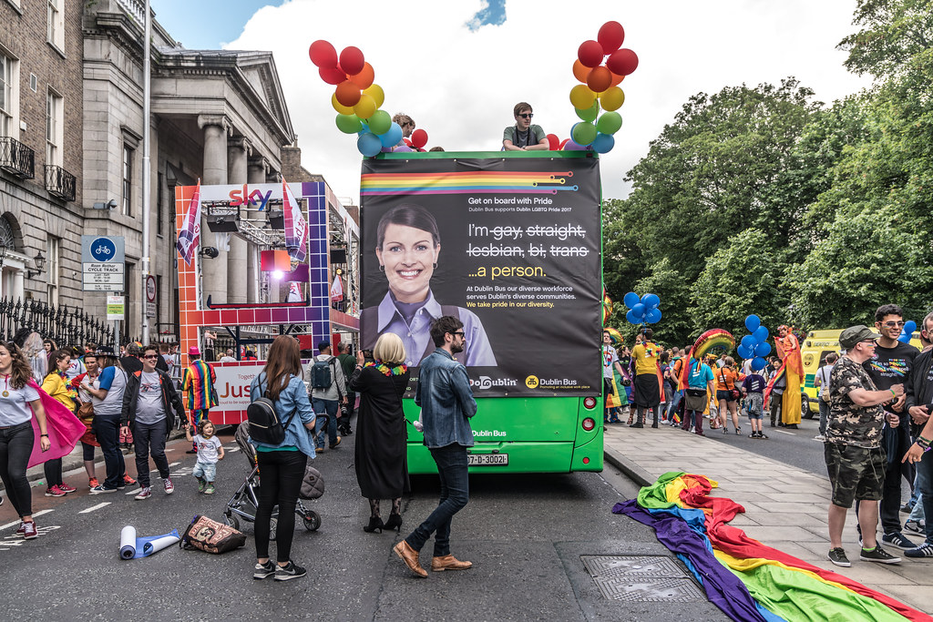 LGBTQ+ PRIDE PARADE 2017 [STEPHENS GREEN BEFORE THE ACTUAL PARADE]-129777