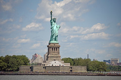 Picture Taken From The Staten Island Ferry Of The Statue Of Liberty. Photo Taken Sunday June 25, 2017 (ses7) Tags: staten island ferry viewstatue of liberty