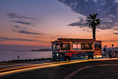 Free Ride (sosidesc) Tags: trolley free danapoint beach sunset nd capo