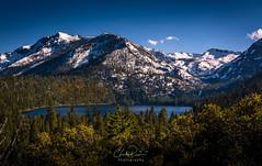 Lake Tahoe - Cascade Lake (Charles Ragucci Photography) Tags: cascadelake skiing landscape fannetteisland emeraldbay mountains vikingsholm lake pinetrees snow trees waterfall forest sierranevadamountains nature california laketahoe