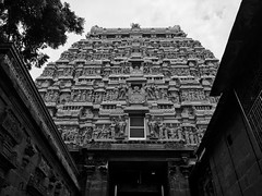 Temples of shades (ajeethkrishnaa111) Tags: templearchitecture architecture temples blackandwhite indianarchitecture indiantemples southindiantemples