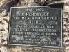 Three Wars (Crawford Brian) Tags: plaque memorial marker sign monument spanishamericanwar boxerrebellion phillipineinsurrection china oakpark ridgelandcommon park illinois midwest usa