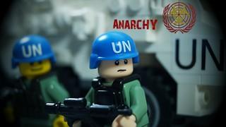 Lego Zombie: UN Peacekeepers