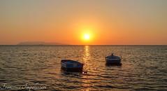 Together (Francesco Impellizzeri) Tags: sunset trapani sicilia boats panasonic landscape ngc