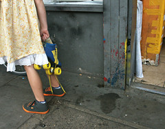 Back to the Future (Becky Frances) Tags: beckyfrances bethnalgreen city candid colour colourstreetphotography canpubphoto documentary england eastlondon eastend girl london lensblr olympus rollerskates streetphotography shoreditch socialdocumentary skates urban uk vintage 2017