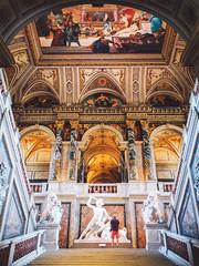 Kunsthistorisches Museum, Wien. (www.juliadavilalampe.com) Tags: kunst wien vienna austria art architecture entrada magestic love city home stairs turist europe travel destination