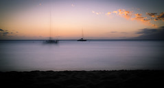The Black Pearl (LoL) (Rabican7) Tags: hawaii lahaina beach ships colors sunset ghosts sea ocean travelling clouds sand view longexposure nikon