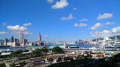 IMG_20170628_163114 (fung1981) Tags: hongkong hk 香港 維多利亞港 victoriaharbour victoriaharbor 海港 夏 summer bluesky 藍天 blue 藍 中環 central