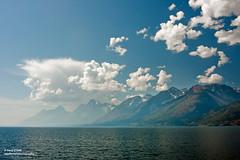 Tetons and Jenny Lake (Gary O'Dell (sagebrushphotography)) Tags: lakes water mountains tetons tetonnationalpark smoke