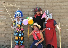 San Martin Tilcajete Carnival Oaxaca Mexico (Ilhuicamina) Tags: costumes people zapotec tilcajete fiestas oaxacan mexican carnivals masks