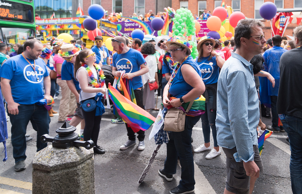 LGBTQ+ PRIDE PARADE 2017 [STEPHENS GREEN BEFORE THE ACTUAL PARADE]-129829