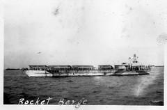 HMS LCT(R) 481 (Roger Litwiller -Author/Artist) Tags: rogerlitwillercollection rossmilligan royalcanadiannavy rcn wwii battleofatlantic hmslctr481 landingcraft rocket normandy dday invasion
