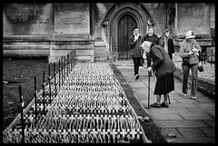 Not forgotten (Photoburglar) Tags: london remembrabce westminster westminsterabbey poppies monochrome wwii war memorial nikon blackandwhite