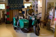Igor museo, green motorcycle 2 (visitsouthcoastfinland) Tags: visitsouthcoastfinland degerby igor museum museo finland suomi travel history indoor motorcycle