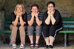 Die 3 Damen von der Bank
