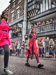 Chester Mid Summer Watch (PhilnCaz) Tags: philncaz chestermidsummerwatch chestersummerwatch chester historic history tradition summer 2017 cheshire celebration holiday edited hdr highdynamicrange processed tonemapped snapseed olympus omd em1 mark ii olympusrevolution