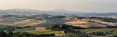 Belvedere (Elisa Valdambrini photography) Tags: 2017 alba canon color landscape panorama sanquirico toscana valdorcia tuscany pienza italia land view