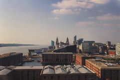 A View across Albert Dock (grobigrobsen) Tags: liverpool merseyside england uk britain travel skyline city street urban