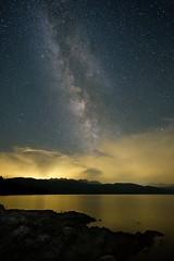 Milky Way at lake Walchensee. (Matthias-Foto.de) Tags: milkyway bavaria bayern samyang12mm xt10 fujifilm 2017 milchstrase walchensee