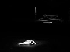 (赤いミルク) Tags: grain vignette blackandwhite monochrome ビンテージ ビニル black romantism gothic コントラスト 赤 red ウォール wall ゴースト 悪魔 ghost 友人 ドア doors 贈り物 地平線 horizon モノクローム 暗い street 壁 surreal intriguing 生活 life door texture 秋 雨 overpast 賞賛 光 影 白黒 幽霊 いかだ ダンス