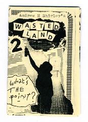 """""""Wastedland"""" 2, a 2016 mini-zine by Andrew H. Shirley and the 907 crew (fotoflow / Oscar Arriola) Tags: zine zines 2017 wastedland 2 mini minizine us usa united states america american 907 crew andrew h shirley adam void smells ekg ufo detroit nyc new york city graffiti 2016"""