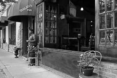 Along Halsted Street - Chicago - 19 Jun 2017 - 5D IV - 042 (Andre's Street Photography) Tags: chicago19jun20175div monochrome chicago greektown halstedstreet nearwestside westside dugans copbar woman hangingout hangingoutatdugans street straat straatportret straatfotografie fotografiadistrada strasse strada larue lacale urban scene candid life urbanlife streetlife trendy blackandwhite bw bwphotography zwartwit noiretblanc blancoynegro schwarzweiss chicagostreets chicagostreetphotographer urbanchicago dutchstreetphotographer vivianmaiersstyle dedicatedtodianearbus robertfranksworld tributetoedvanderelsken chicagoist chicagoistphotos enjoyillinois chicagotribune chicagojournal chicagoreader chicagomagazine streetphotographymagazine bar tavern liquor establishment dark interior